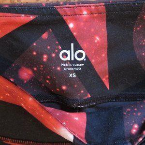 ALO XS Airbrush print leggings